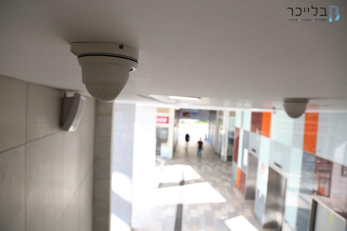 בלייכר פתרונות תקשורת וביטחון פרויקט מרכז מסחרי חולון